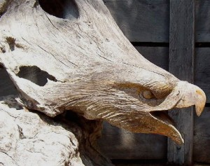 Driftwood Eagle, by Terry Woodall